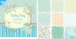 Joy! papierblok 15x15 cm baby boy 6011 0024 (Locatie: 1RC5 )