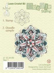 Leane Creatief clear stamp Star1 550140 (Locatie: K105)