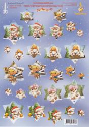 LeCreaDesign knipvel kerst 505038 (Locatie: 2669)