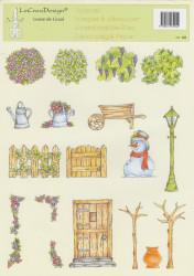 LeCreaDesign knipvel tuinieren 945 (Locatie: 1421)