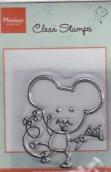 Marianne Design clear stamps HM 9401 (Locatie: NN076 )