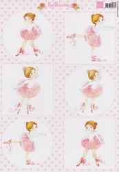 Marianne Design knipvel Ballerina VK9558 (Locatie: 2838)