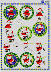 Marianne Design knipvel kerst 3DHM004 (Locatie: 6802)