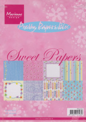 Marianne Design Pretty Papers Bloc Sweet papers A5 PK9065