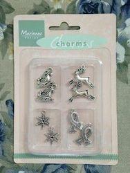 Marianne Design Set charms winter JU0902 (Locatie: 1G )