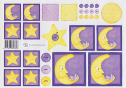 Marjoleine knipvel maan en ster (Locatie: 5023)