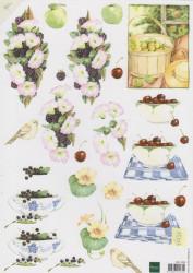 Matti knipvel fruit en bloemen MB0099 (Locatie: 0504)