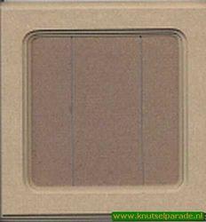 MDF Schilderijtje 22.5x22.5 cm 20.56.004.01394 (Locatie: 4RN2)