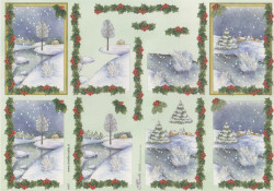 Mireille knipvel kerstmis X187 (Locatie: 1754)