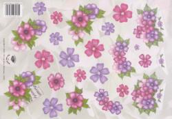 Nel van Veen knipvel bloemen 2320 (Locatie: 4731)