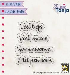 Nellie Snellen Dutch Texts Veel Liefs etc. DTCS024 (Locatie: NN270)
