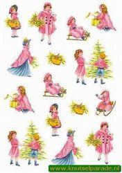Perkament vellum nostalgische kerst (Locatie: 2713)