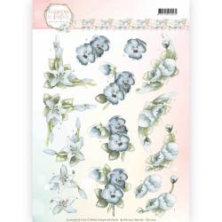 Precious Marieke pastel bloemen CD11139 (Locatie: 1526)