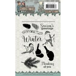 Precious Marieke stempel Christmas Wishes ADCS10055 (Locatie: i510)