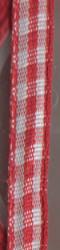 Rayher lint 6,3 mm rood 10 meter 55 407 18 (Locatie: k3)