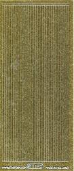 Starform stickervel lijnen glitter goud 1149 (Locatie: U047)