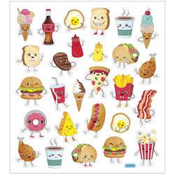 Stickervel fastfood 224294 (Locatie: KB)