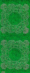 Stickervel holografisch groen 828 (Locatie: j539)