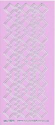 Stickervel lila/zilver nr. 3022 (Locatie: K129 )