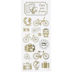 Stickervel rond de wereld 117002 (Locatie: KB)