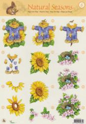 Studio Light knipvel bloemen nr. STAPNS08 (Locatie: 1332)