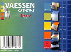 Vaessen Creative Opbergmap 38.5 X 37.5 cm in zwart 37050/024