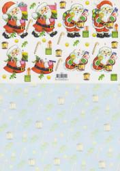 Voorbeeldkaarten knipvel kerstmis 8941 (Locatie: 1229)