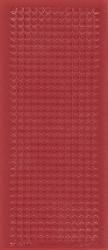 Voorbeeldkaarten sticker donker rood rondjes 3070 (Locatie: E249)
