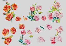 Wekabo knipvel bloemen nr. 802 (Locatie: 1137)