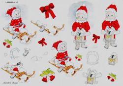 Wekabo knipvel kerstmis 517 (Locatie: 1722)
