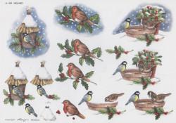 Wekabo knipvel winter en vogels 456 (Locatie: 2520)