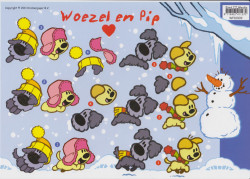 Woezel en Pip knipvel WP10009 (Locatie: 2674)
