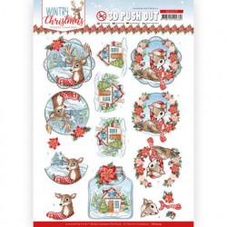 Yvonne Creations stansvel kerstmis SB10579 (Locatie: 4542)