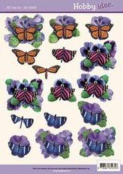Hobbyidee knipvel vlinders HI0003 (Locatie: 6206)