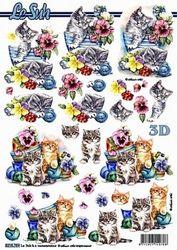 Le Suh knipvel katten 8215759 (Locatie: 5564)