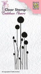 Nellie Snellen Clear stamp Condolence Flower-3 CSCF003 (Locatie: NN300 )