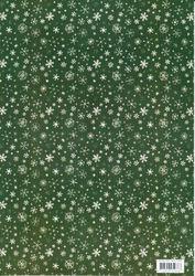 Hobby Idee decoratiepapier sneeuwvlokken 3086 (Locatie: 2755)