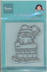 Marianne Design Clear stamp kerstman SF1105 (Locatie: H325)
