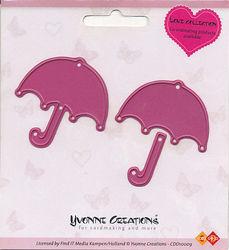 Yvonne Creations snij- en embosmal Umbrella CDD10009 (Locatie: Q015)