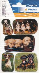 Herma stickers hondenwelpen foto's 3 vel 3528 (Locatie: U178)