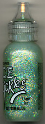 Ice Stickles glitterglue Lime Ice 30 ml. nr. ISG 11965 (Locatie: K1)