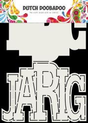 Dutch Doobadoo Card Art A5 stencil Jarig 470713731 (Locatie: 2723)
