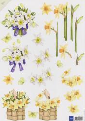 Marianne Design knipvel bloemen MB0121 (Locatie: 0923)