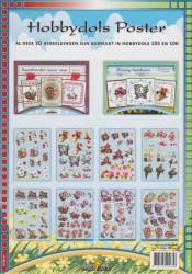 Hobbydols poster nr. 105 en 106