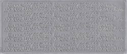 Stickervel zilver 1664 (Locatie: B219)