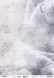 Studio Light achtergrondpapier dubbelzijdig bedrukt A4 Snowy Afternoon BASISSA301 (Locatie: 2316)