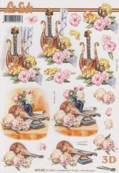 Le Suh knipvel muziek instrumenten 8215492 (Locatie: 2627)