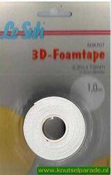 Le Suh 3d-foamtape 2,2mx12mm 1,0 mm dik 508707 (Locatie: K2)
