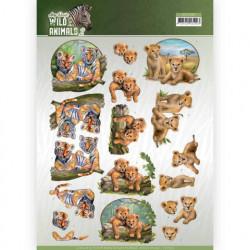 Amy Design knipvel dieren CD11302 (Locatie: 1546)