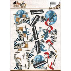 Amy Design knipvel muziek CD11064 (Locatie: 2732)